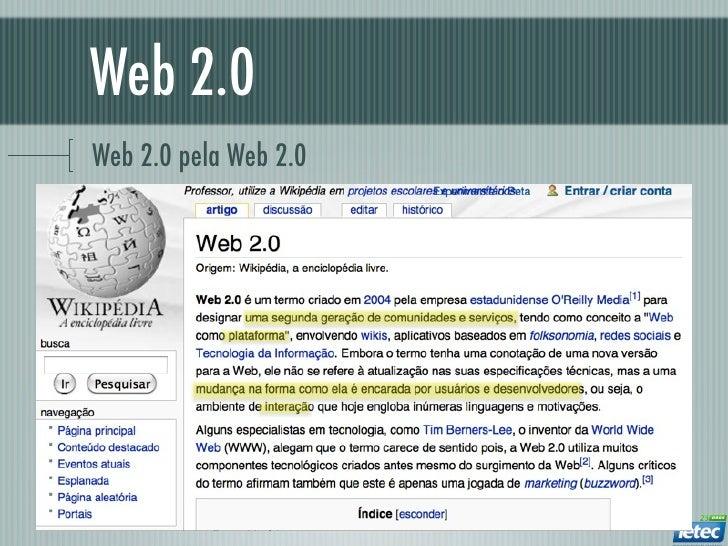 Web 2.0Web 2.0 pela Web 2.0