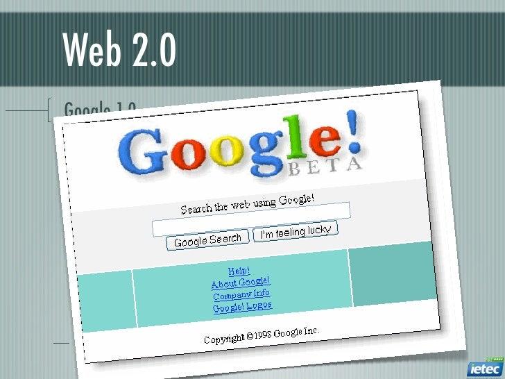Web 2.0Google 1.0