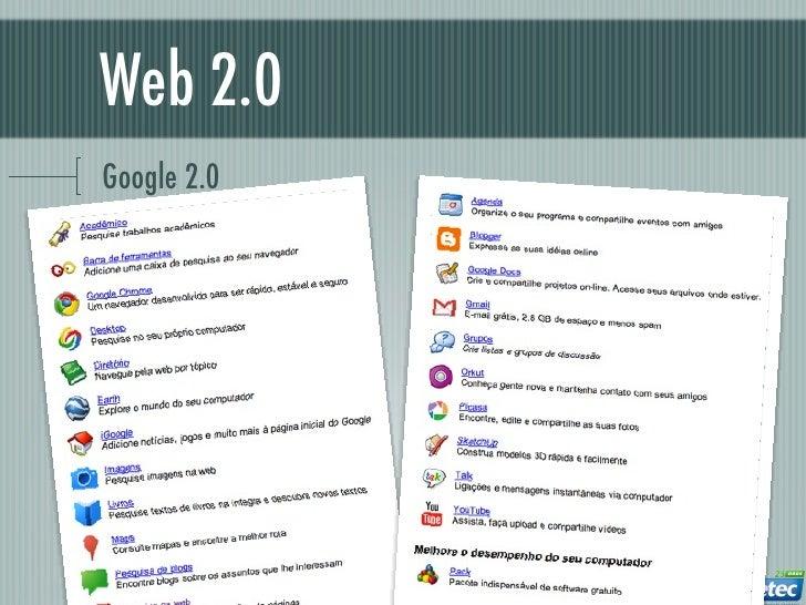Web 2.0Google 2.0
