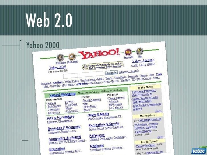 Web 2.0Yahoo 2000