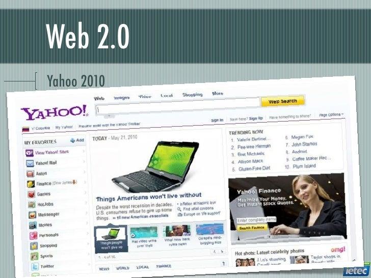 Web 2.0Yahoo 2010