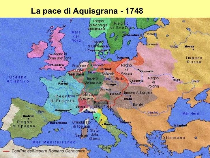 Cartina Europa 700.1 Il Secolo Dell Illuminismo