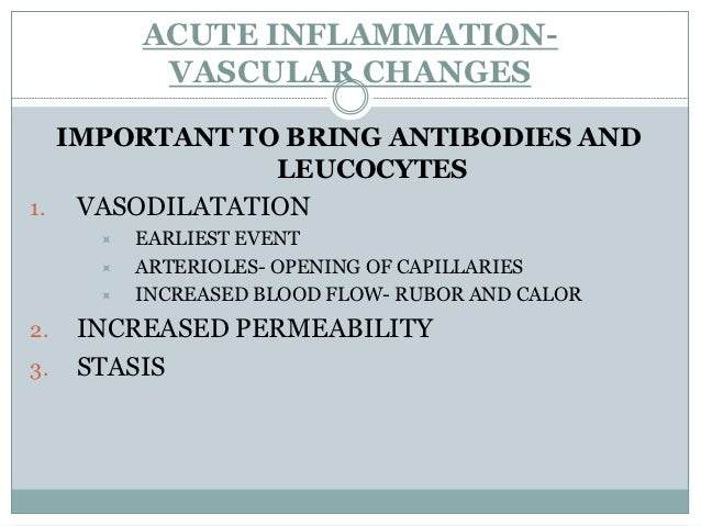 Increased Vascular Permeability (Vascular                   Leakage) Contraction of endothelial cells resulting in increa...