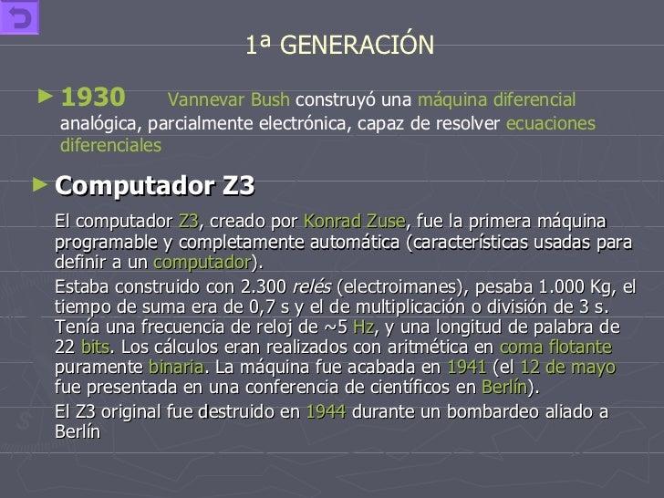 <ul><li>Computador Z3  </li></ul><ul><li>El computador  Z3 , creado por  Konrad Zuse , fue la primera máquina programable ...