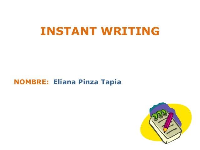 Instant essay writer