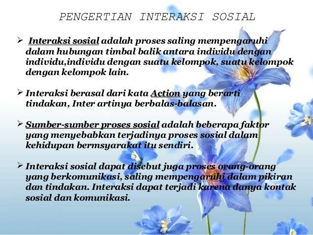 1 Interaksi Sosial