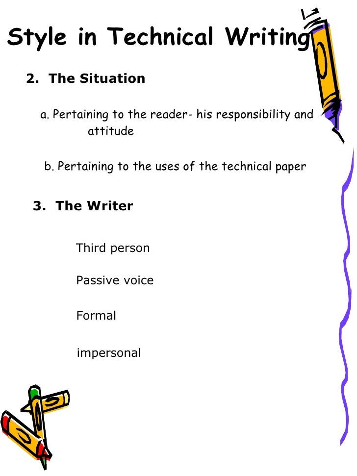 technical writing vs. essay writing Technical writing is closely related to the process, or how to, essay its function is to clearly explain the steps to accomplishing a task so anyone can do it as such, its audience is.