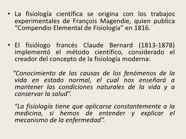 1. introducción al estudio de la fisiología
