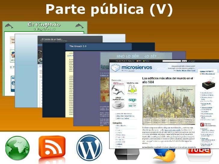 Parte pública (V)