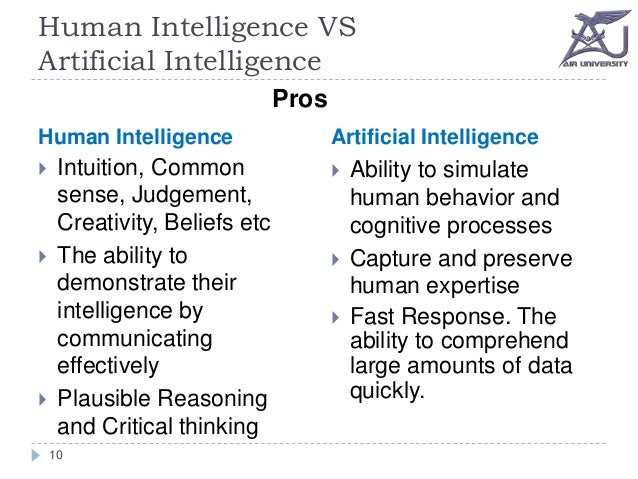 human vs computer intelligence