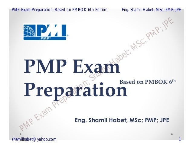 PMP Chapter 1 of 6 introduction (Based on PMBOK 6th edition)