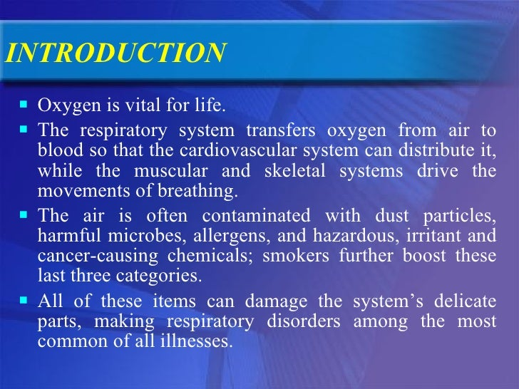 Introduction Yoga Therapy For The Management Of Respiratory Disorders Slide 2