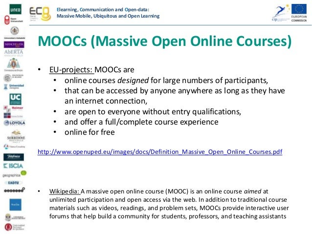 introduction on moocs their european dimension and eco project. Black Bedroom Furniture Sets. Home Design Ideas