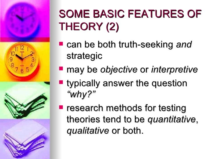 interpretive vs objective theory communication studies The 31 theory chapters are divided into four major divisions, interpersonal  communication, group and public  objective or interpretive: sorting out the  labels.