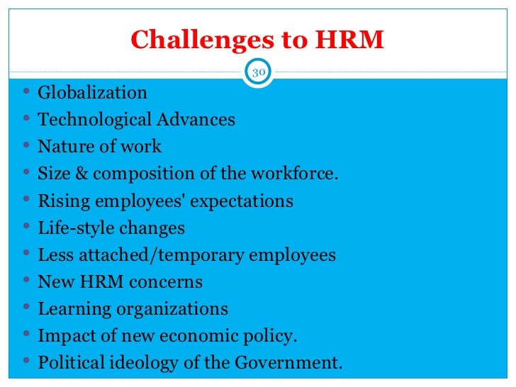 1 Introduction To Hrm