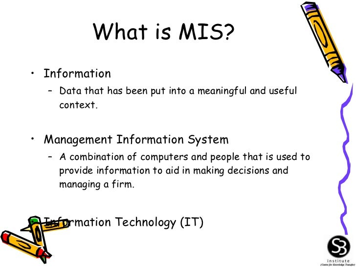1 introduction to mis