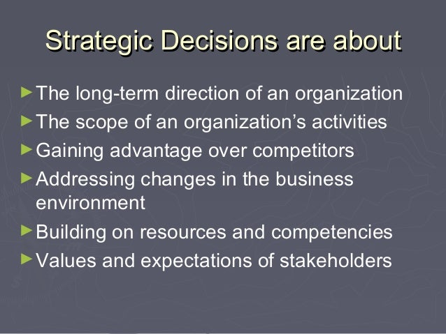 in terms of the strategic choice framework introduced in this chapter From there, you can make informed choices and implement your strategy  effectively  this framework combines everything you learned in your swot  analysis  make sure that you can express it in terms that are easy to connect  with, and.