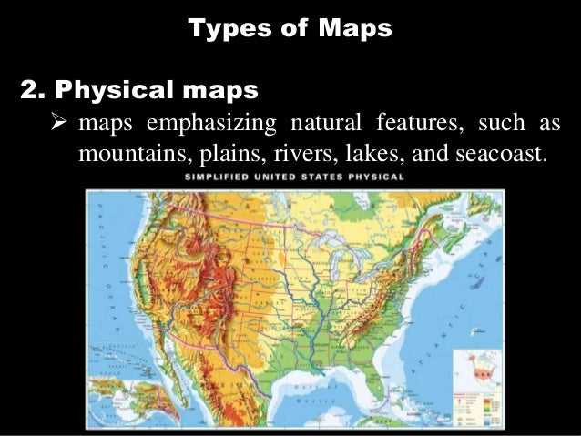 36 types of maps