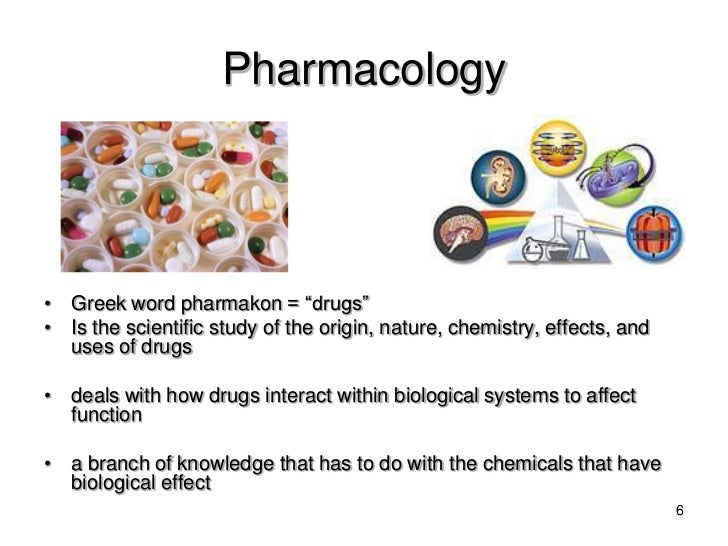 introduction to pharmacology View notes - introduction to pharmacology from hlsc 3p19 at brock university.