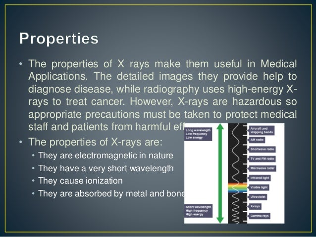 3. • The properties of X rays ... 2e480afef