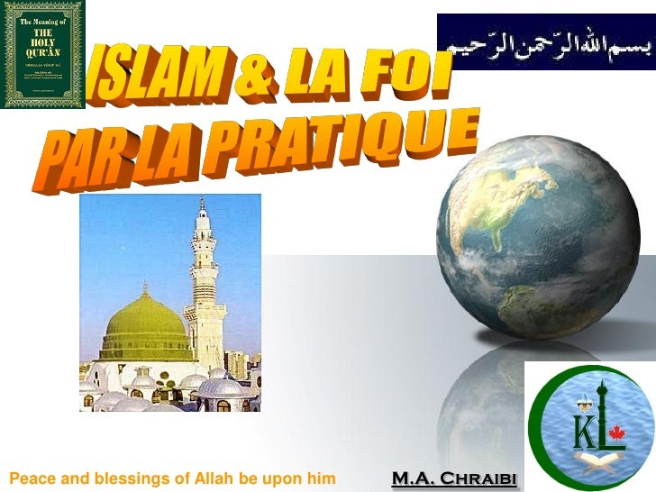 Peace and blessings of Allah be upon him   M.A. Chraibi   Issue 1
