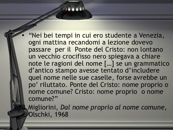 """<ul><li>"""" Nei bei tempi in cui ero studente a Venezia, ogni mattina recandomi a lezione dovevo passare  per il  Ponte del ..."""