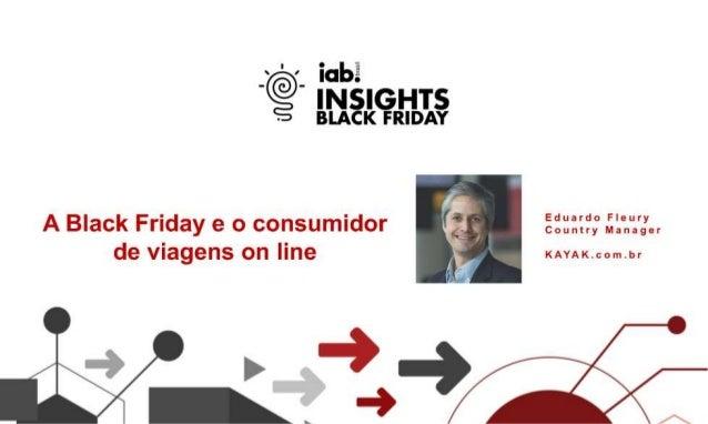 Black Friday - A Black Friday e o consumidor de viagens on-line