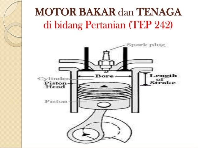 MOTOR BAKAR dan TENAGA di bidang Pertanian (TEP 242)
