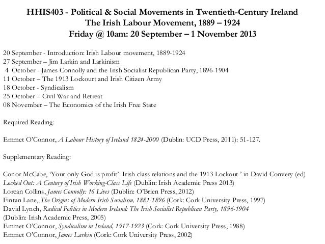 essays in irish labour history 2001 - 2011 - irish labour history read more about irish, dublin, labour, ireland, devine and connolly.