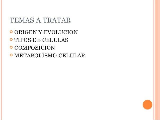 1. la celula Slide 2