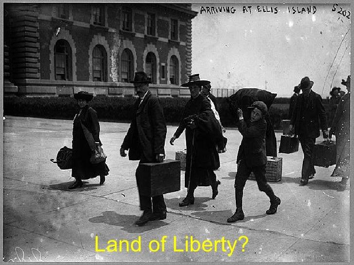 Land of Liberty?