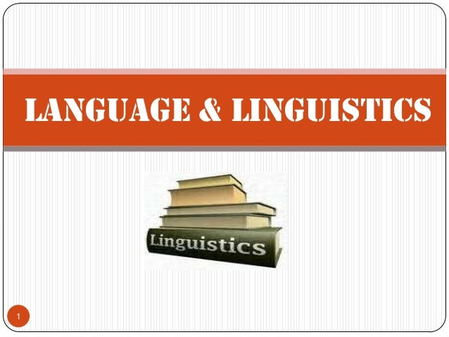 Language & Linguistics1