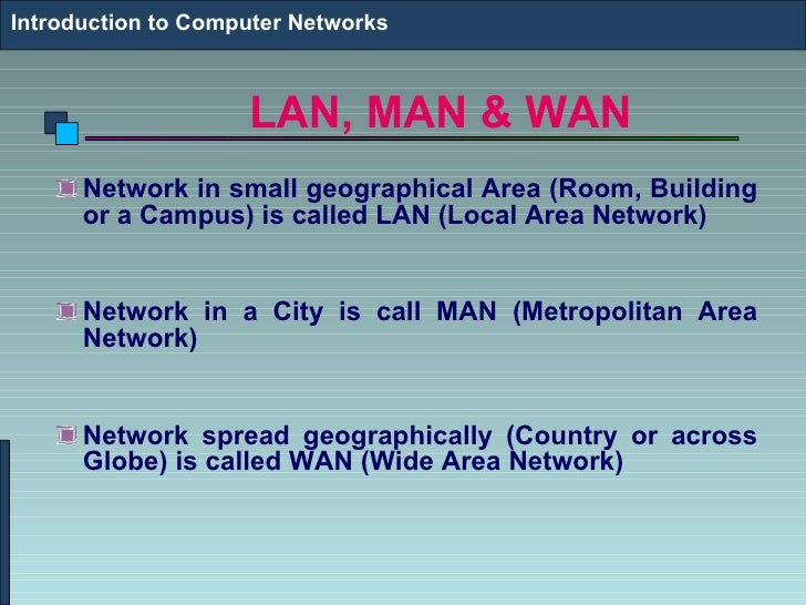 Computer networks7.