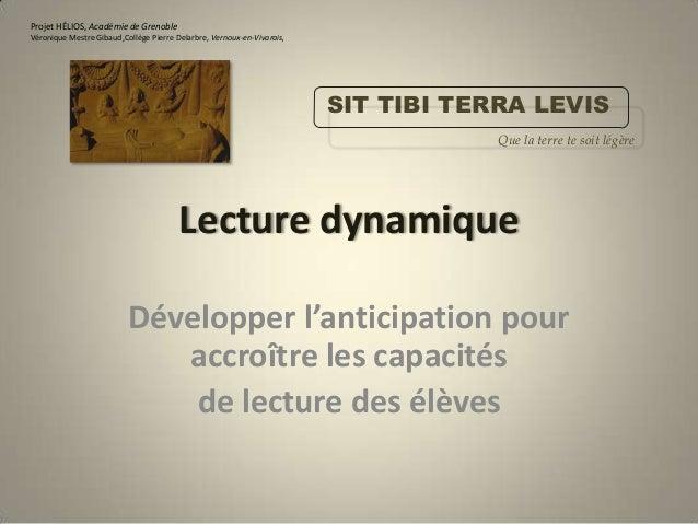 Projet HÉLIOS, Académie de GrenobleVéronique Mestre Gibaud,Collège Pierre Delarbre, Vernoux-en-Vivarais,                  ...