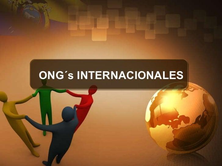 1 manejo de ong s internacionales
