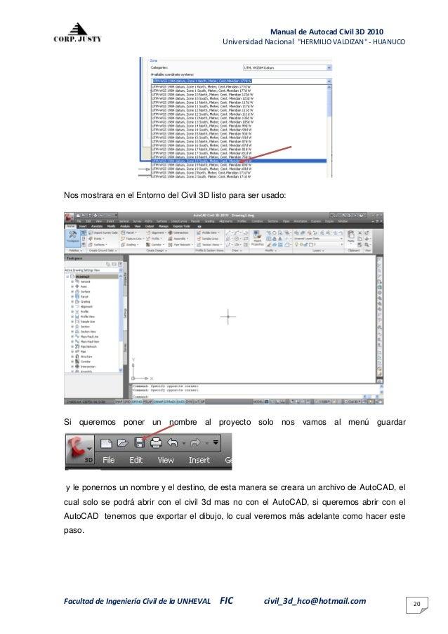 1 manual del civil 3d rh es slideshare net manual civil 3d 2010 cip - completo.pdf descargar gratis manual de autocad civil 3d 2010 en español