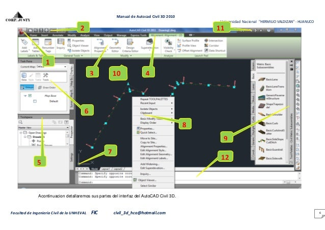 1 manual del civil 3d rh es slideshare net autocad 14 manuale manual autocad 14 español pdf