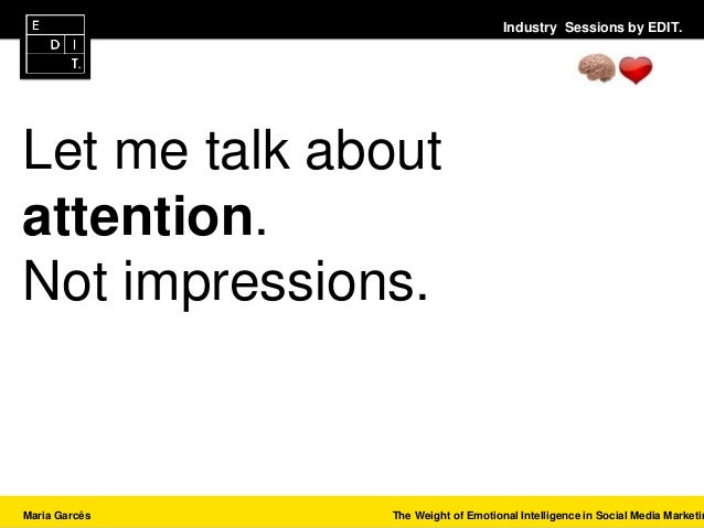 Industry Sessios by EDIT. - Talk #3 - Maria Garcês Slide 2