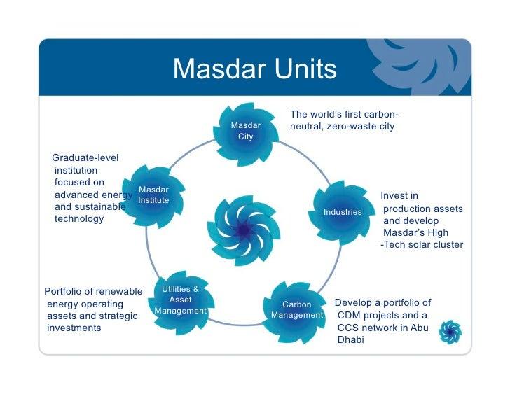 Masdar City Overview Project Development Overview Toronto