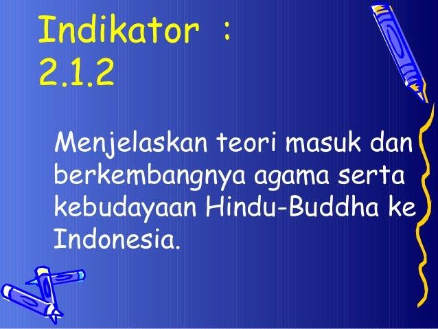 Masuknya Hindu Buda Di Indonesia