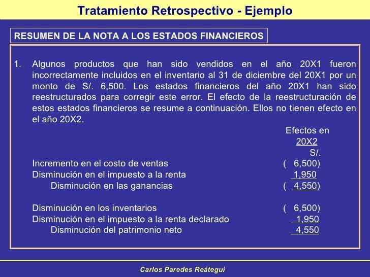 Cierre contable 2008 Normas internacionales 2