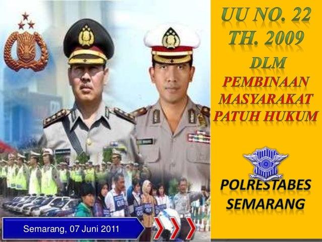 Semarang, 07 Juni 2011