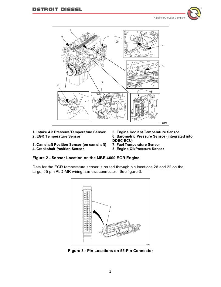 Mbe 4000 Sensor Diagram - Wiring Diagram Page