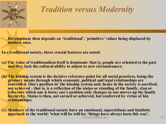 characteristics of modernization sociology