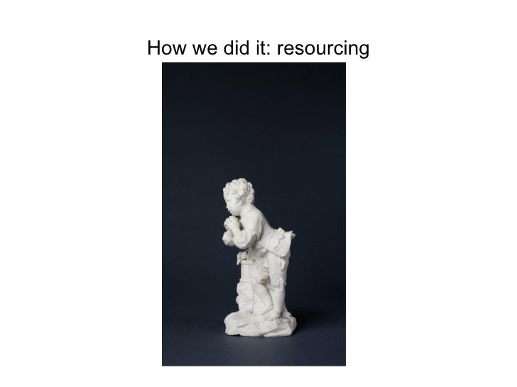 How we did it: resourcing