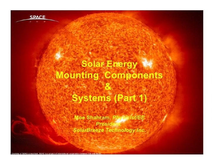 A Renewable Energy & Consulting Company                                            www.solarbt.com      Solar EnergyMounti...