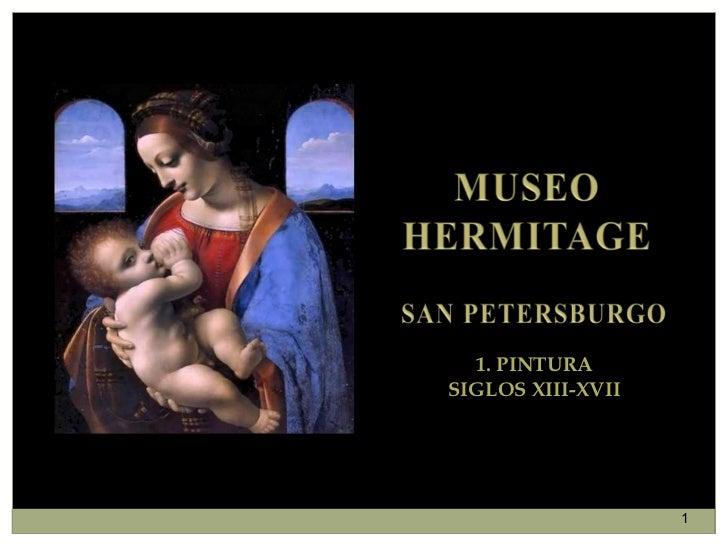 1. PINTURA SIGLOS XIII-XVII