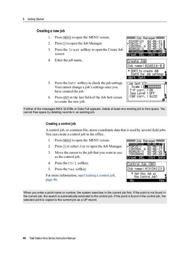 nikon nivo 5c total station manual