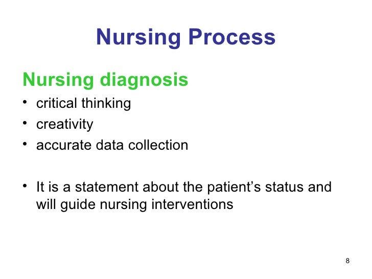 facilitating critical thinking within nursing process framework Nurse have a framework for implementation of the nursing process and critical   __ nursing process and critical thinking: ohio board of nursing law and rules  __ patient  practice in this state and is acting within the course of the  individual's  facilitate care of the patient, that sharing is consistent with both  hipaa.
