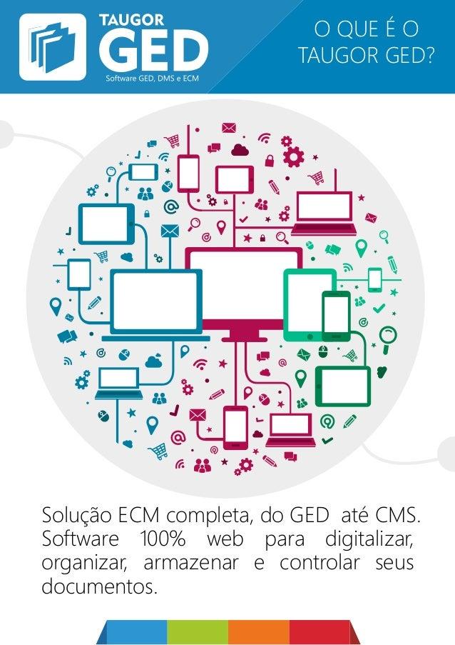 Solução ECM completa, do GED até CMS. Software 100% web para digitalizar, organizar, armazenar e controlar seus documentos...